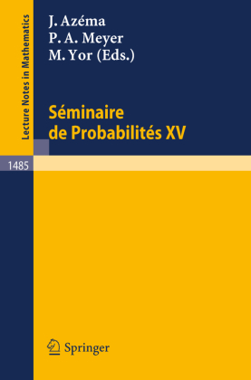 Seminaire de Probabilites XXV