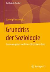 Grundriss der Soziologie