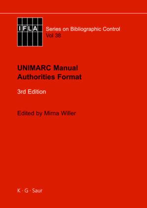 UNIMARC Manual Authorities Format