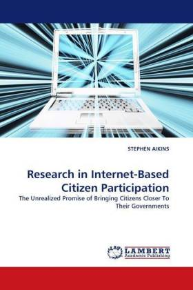 Research in Internet-Based Citizen Participation