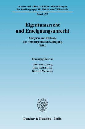Eigentumsrecht und Enteignungsunrecht