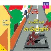 Die Drei vom Ast in Gefahr, Audio-CD Cover