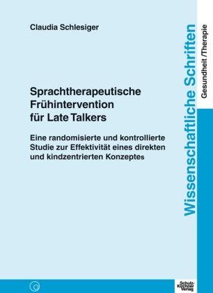 Sprachtherapeutische Frühintervention für Late Talkers