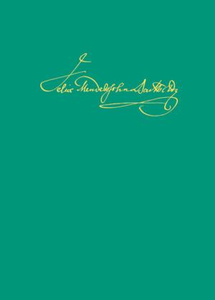 Felix Mendelssohn Bartholdy, Thematisch-systematisches Verzeichnis der musikalischen Werke