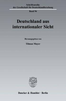 Deutschland aus internationaler Sicht
