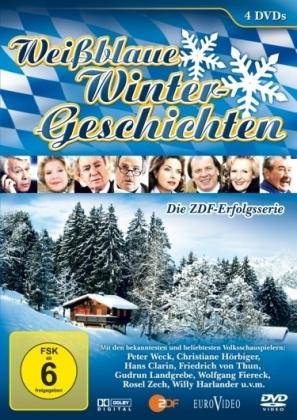 Weißblaue Wintergeschichten, 4 DVDs