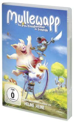Mullewapp, Das große Kinoabenteuer der Freunde, 1 DVD