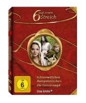 Schneewittchen; Rumpelstilzchen; Die Gänsemagd, 3 DVDs Cover