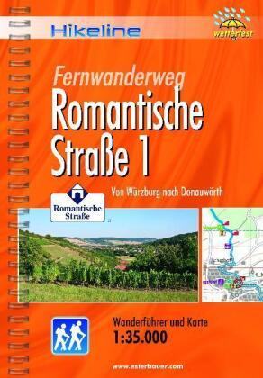Hikeline Wanderführer Fernwanderweg Romantische Straße