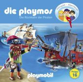 Die Playmos - Die Rückkehr der Piraten, 1 Audio-CD Cover