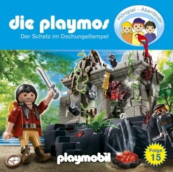 Die Playmos - Der Schatz im Dschungeltempel, 1 Audio-CD