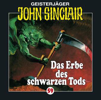 Geisterjäger John Sinclair - Das Erbe des schwarzen Tods, 1 Audio-CD