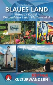 Rother Kulturwandern Blaues Land Cover