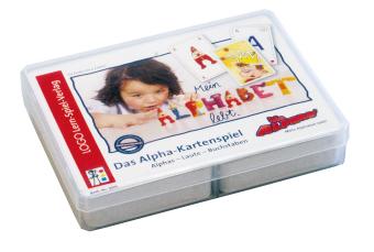 Die Alphas, Das Alpha-Kartenspiel (Kinderspiel)