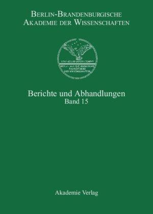 Berlin-Brandenburgische Akademie der Wissenschaften, Berichte und Abhandlungen