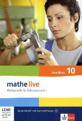 10. Schuljahr, Grundkurs, Arbeitsheft m. CD-ROM