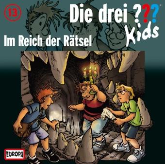 Die drei ???-Kids - Im Reich der Rätsel, Audio-CD