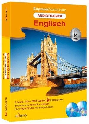 Audiotrainer Expresswortschatz Englisch, 2 Audio-CDs