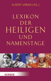 Lexikon der Heiligen und Namenstage Cover