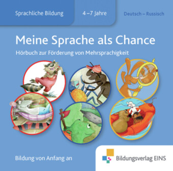 Meine Sprache als Chance: Deutsch-Russisch, 1 Audio-CD