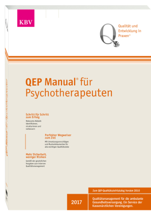 QEP® Manual für Psychotherapeuten, m. CD-ROM