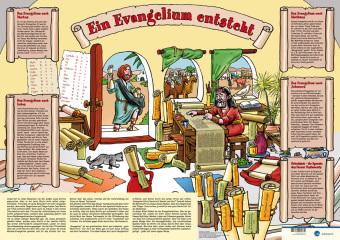 Wie ein Evangelium entsteht, Plakat