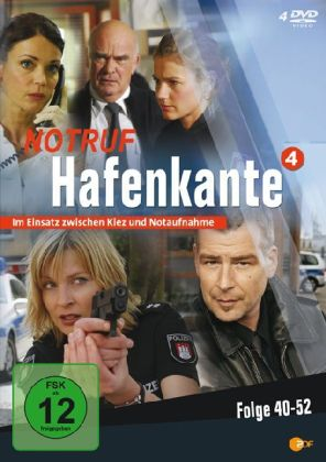 Notruf Hafenkante, 4 DVDs