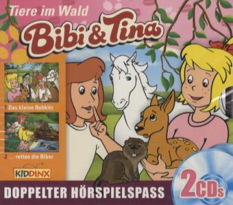 Bibi & Tina - Tiere im Wald, 2 Audio-CDs