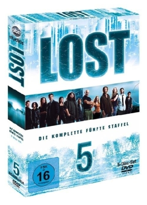 Lost, 5 DVDs