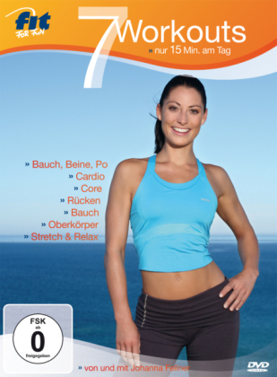7 Workouts - nur 15 Min. am Tag, 1 DVD