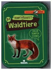 Waldtiere Quartett (Kartenspiel) Cover