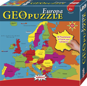 Geo Puzzle, Europa (Kinderpuzzle)