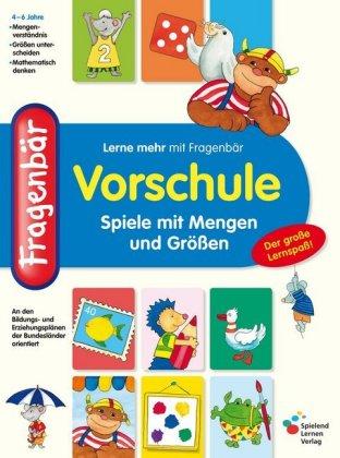 Fragenbär, Vorschule - Spiele mit Mengen und Größen