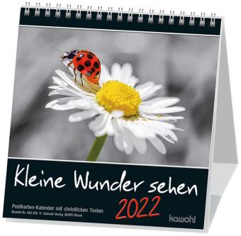 Kleine Wunder sehen, Postkartenkalender 2021