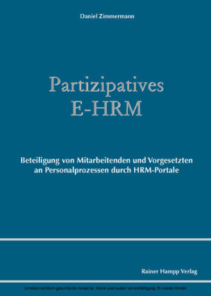 Partizipatives E-HRM