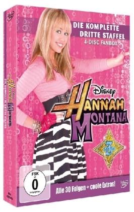 Hannah Montana, 4 DVDs