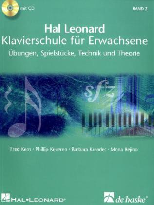 Hal Leonard Klavierschule für Erwachsene, m. 2 Audio-CDs