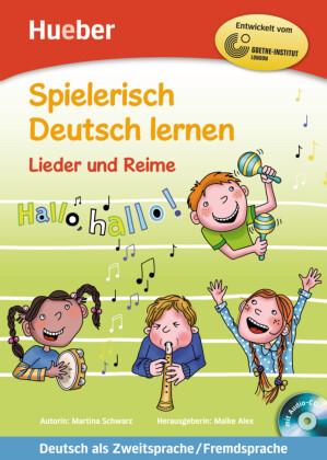 Lieder und Reime, m. Audio-CD