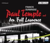 Paul Temple und der Fall Lawrence, 4 Audio-CDs Cover