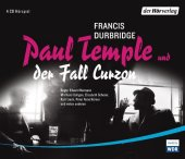 Paul Temple und der Fall Curzon, 4 Audio-CDs Cover
