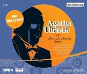 Acht Hercule Poirot Krimis, 4 Audio-CDs Cover