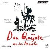 Don Quijote von der Mancha, 6 Audio-CDs Cover