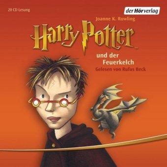 Harry Potter und der Feuerkelch, 20 Audio-CDs