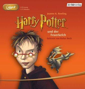 Harry Potter und der Feuerkelch, 2 MP3-CDs