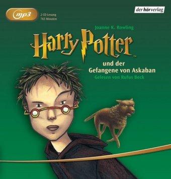 Harry Potter und der Gefangene von Askaban, 2 MP3-CDs