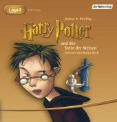 Harry Potter und der Stein der Weisen, 1 MP3-CD Cover
