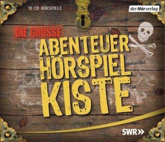 Die große Abenteuer-Hörspiel-Kiste, 10 Audio-CDs