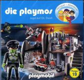 Die Playmos - Jagd auf Dr. Devil, 1 Audio-CD Cover
