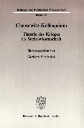 Clausewitz-Kolloquium.