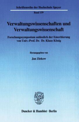 Verwaltungswissenschaften und Verwaltungswissenschaft.